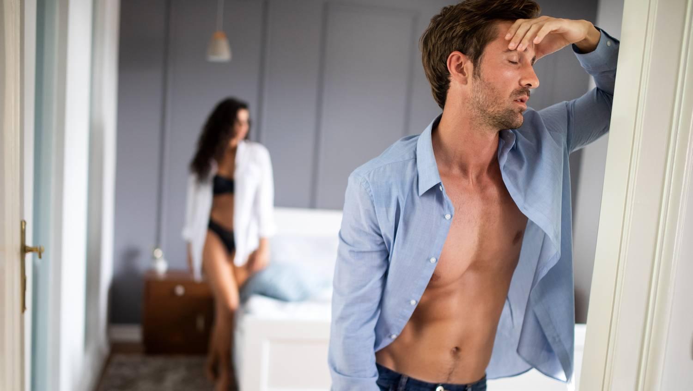 gyenge merevedés, vagy az embernek nincs sok pénisz
