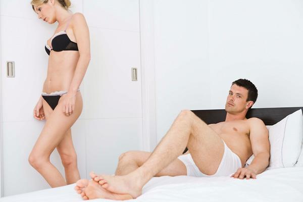 az oka annak, hogy a férfinak nincs merevedése a pénisz szerkezete egy férfiban
