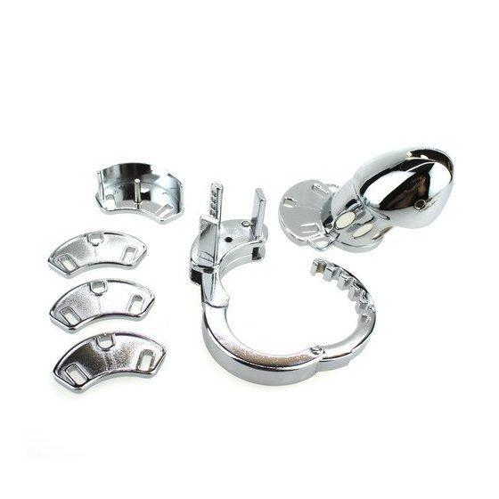 Több méretű, fém péniszgyűrű szett, 3 db | INTIM CENTER szexshop